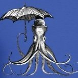 Calamari Umbrella